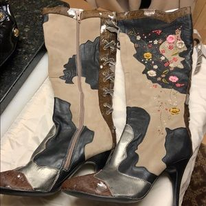 NWOT SE Boutique By Sam Edelman Tall Unique Boots